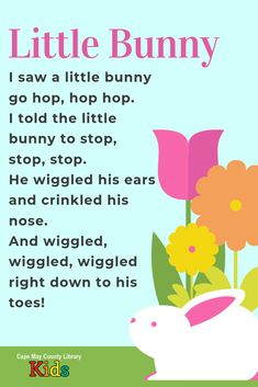 This is one of our favorite spring action rhymes! Nursery Rhymes Poems, Nursery Rhymes Preschool, Nursery Songs, Rhymes Songs, Rhyming Poems For Kids, Rhyming Preschool, Preschool Music, Songs For Toddlers, Rhymes For Kids