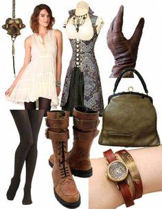 Женская одежда в стиле «Стимпанк»: от фэнтези до повседневности (+ фото)