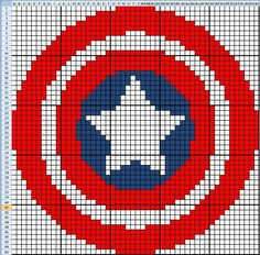 Even More Superhero Charts for Crochet (or knit or whatever)