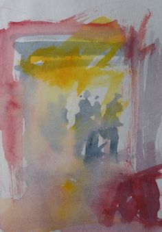 One of my watercolour sketches. Central Rome 17th October 2014, night and rain. Looking for 10 mins, painted in 2 mins. Still trying to catch a moment.