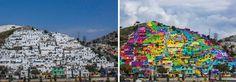 A szivárvány minden színében pompázik a mexikói település - xoxo