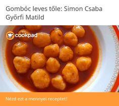 Gombócleves Weight Watchers Soup, Fruit, Food, Essen, Meals, Yemek, Weight Watchers Pasta, Eten