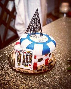 Vegas Grooms cake