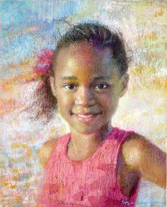 Pastel Art | Pastel Portrait, Custom Color Drawing, Face Painting Portraiture ...