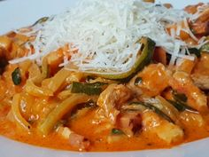 Cuketové špagety Thai Red Curry, Low Carb, Ethnic Recipes