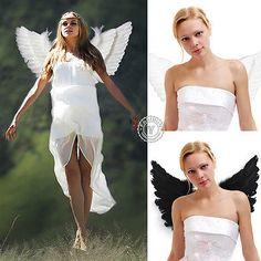 Reino Unido adulto de Ángel alas De Hadas Fancy Dress Costume Accesorio Fashion Show