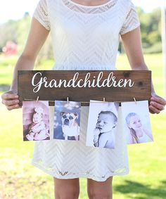 'Grandchildren' Wall Sign by Morgann Hill Designs #zulily #zulilyfinds