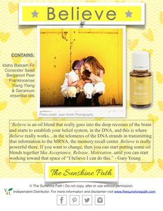 Young Living Believe