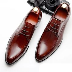 Bullock genuine leather luxury brand black men party wedding dress shoes - Men Dress Shoe - Ideas of Men Dress Shoe - Bullock genuine leather luxury brand black men party wedding dress sho GaGodeal Mens Dress Outfits, Men Dress, Simple Shoes, Casual Shoes, Men Casual, Mens Business Shoes, Gentleman Shoes, Mens Fashion Shoes, Shoes Men