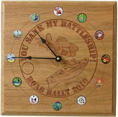 Custom pathtag clocks from Geoclocks
