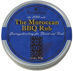 A moroccan grill marinade in a tin. Bbq Rub, Spice Blends, Spicy, Grilling, Hot, Fire, Glass, Spice Mixes, Spice Combinations