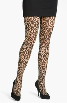 These Wolford 'Rockin' Rose' tights rock! $65