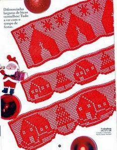 Bicos de Croche: Bicos de crochê para o Natal
