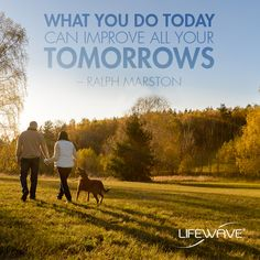 Procrastination can hurt your goals. Start working on them today and you'll improve your tomorrow! What goals will you start working on today? #MotivationMonday #goals #LifeWave #QOTD