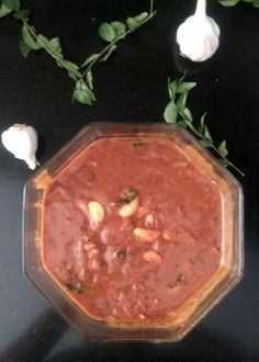 Spicy tamarind gravy, slow cooked and reduced is this Puli Kuzhambu - a…