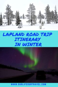 Ultimate Lapland Itinerary - Winter Road Trip in 10 Days (or 7 Days!) - Our Life, Our Travel Finland Travel, Norway Travel, Us Travel, Travel Tips, Travel Europe, Travel Destinations, Best Places In Europe, Best Places To Travel, Winter Road