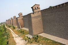 The wall of Pingyao, China