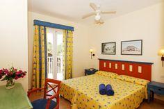 Los dormitorios de los Apartamentos Isla del Aire
