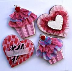 Pre-printed wafer paper ruffles make these whimsical cookies fast and easy to make. Learn How.