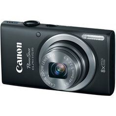 PowerShot ELPH 115 IS Black, Canon, $99 (ON SALE)  This is an ELPH you'll want in your pocket every day: easy to use and sleekly stylish, the PowerShot ELPH 115 IS is equipped to turn any moment into a high-quality image. The bright, powerful 8x Optical Zoom with 28mm Wide-Angle lens takes you up close for detail and out wide for group shots, while the 16.0 Megapixel sensor and DIGIC 4 Image Proce...See More