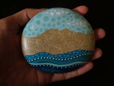 painted stones on Behance