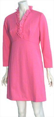 Super Cute Pink 70s Vintage Dress