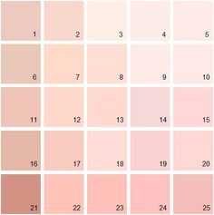Benjamin Moore Pink House Paint Colors - Palette 02
