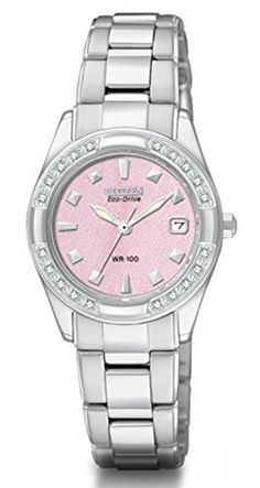 Citizen Womens EcoDrive Regent 20 Diamonds Sapphire Crystal Watch EW182155X -- Check out this great product.(It is Amazon affiliate link) #feature