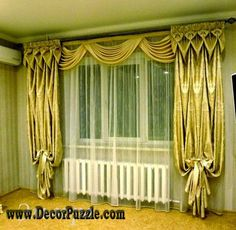 modern curtain styles 2015, new curtains designs for window