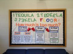 Alcohol Awareness Bulletin Board- What is binge drinking?