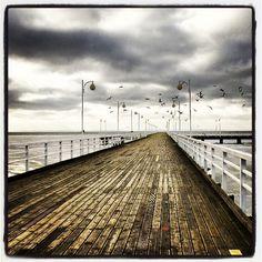 Molo w Juracie (The pier in Jurata), Polish coast (#Baltic_Sea), #Poland