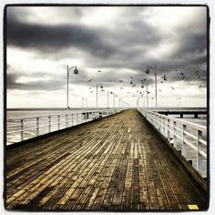 Molo w Juracie (The pier in Jurata), Polish coast (#Baltic_Sea), #Poland