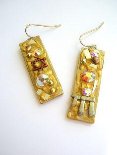 Choose Life Chai Earrings by lightofzionjewelry on Etsy, $10.00