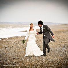 Love a coastal wedding  #cleywindmill #bride #fieldphotographicportraits #Heanorphotographer #love | From Field Photographic Portrait Studio | http://ift.tt/20TBije