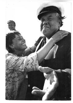 Nicolas Tikhomiroff - Orson Welles and Jeanne Moreau