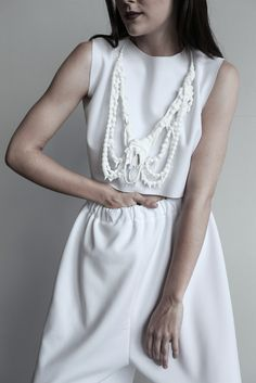 photo by Lubica Martincova wedding dress design Drevena Helena Vogue Wedding, Designer Wedding Dresses, White Dress, Photography, Clothes, Minimalism, Jewellery, Style, Friends