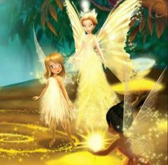 Tinker Bell & Queen Clarion