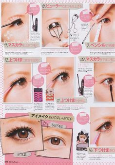 Gyaru Makeup How To