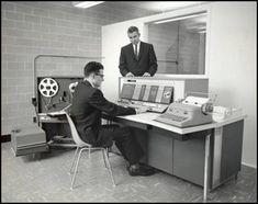 1962 IBM 1620 Computer.