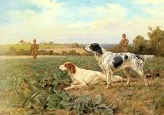 1891 English Setters by Thomas Blinks