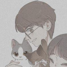 Anime Cupples, Otaku Anime, Kawaii Anime, Anime Art, Anime Couples Drawings, Anime Couples Manga, Chibi, Disney Icons, Cute Cat Wallpaper