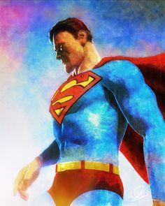 Man of Steel by DanielMurrayART on DeviantArt