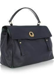 classic large navy leather handbags - Google Search