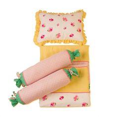 Baby Jalebi - Baby Girl Bedding - Spring Blossom Blanket , Pillow & Bolster Set