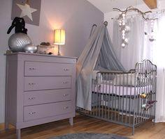 Deco Chambre Bebe Rose Et Taupe | Chambre bébé | Pinterest