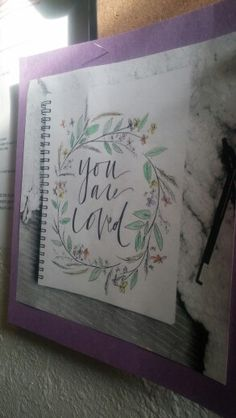 Pinterest has all sorts of beautiful encouraging sayings. I try to curate the ones I think will brighten tenants' day- and get help from tenants to pick them out too