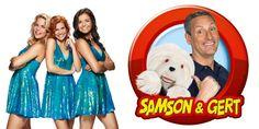 LF17: Samson & Gert én K3 op zaterdagnamiddag 12 augustus