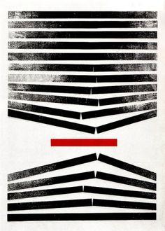 "Référent ""différence"" ( Designspiration — Anton Stankowski Illustration 5 | Flickr – Condivisione di foto! )"
