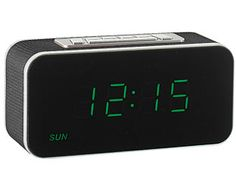 Expert Verdict Digital Clock Radio They've been making mornings more bearable since the '70s and digital clock radios like this now have classic design status. With easy-to-read LED numbers, snooze function, day and date display, plus  http://www.MightGet.com/january-2017-11/expert-verdict-digital-clock-radio.asp