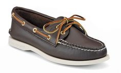 Sperry Top-sider Women's Original in Classic Brown Leather. What a beauty.